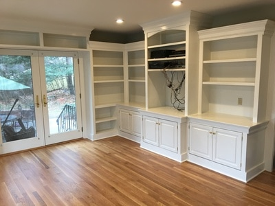 Cabinetry painted